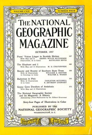 National Geographic October 1957-0