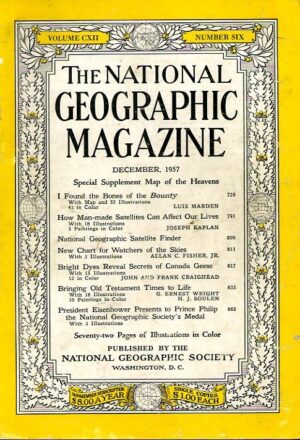 National Geographic December 1957-0