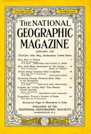 National Geographic January 1958-0