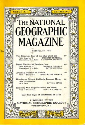 National Geographic February 1958-0