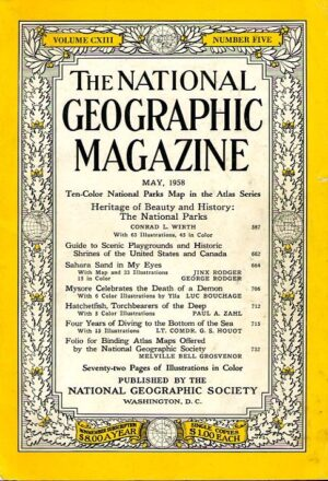 National Geographic May 1958-0