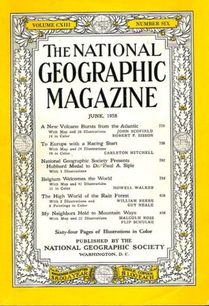 National Geographic June 1958-0