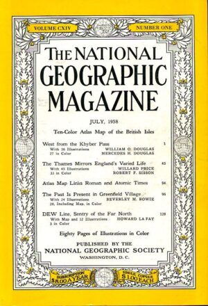 National Geographic July 1958-0