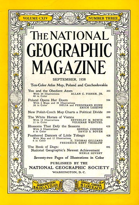 National Geographic September 1958-0