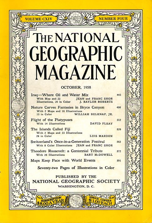 National Geographic October 1958-0