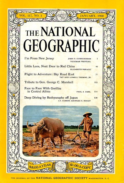 National Geographic January 1960-0