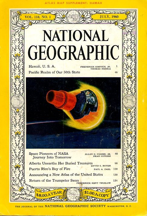 National Geographic July 1960-0
