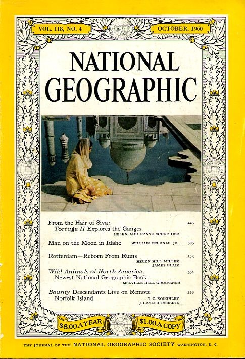 National Geographic October 1960-0