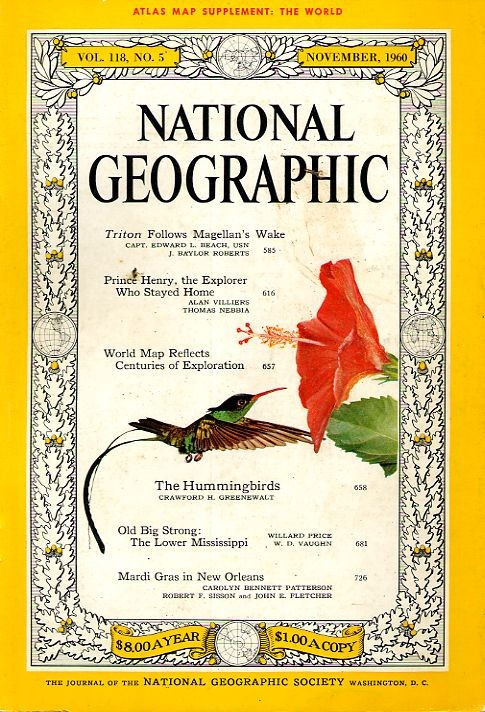 National Geographic November 1960-0