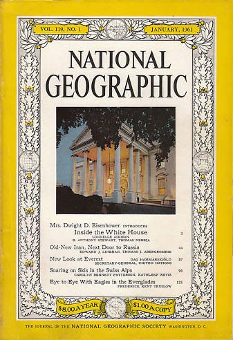 National Geographic January 1961-0