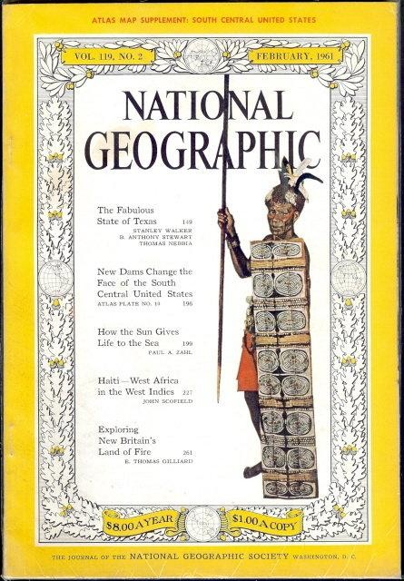 National Geographic February 1961-0