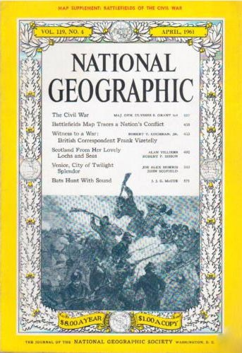 National Geographic April 1961-0