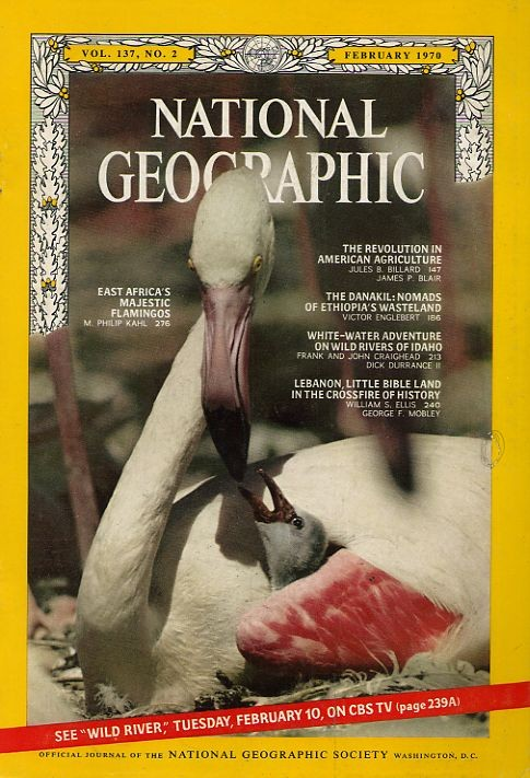 National Geographic February 1970-0