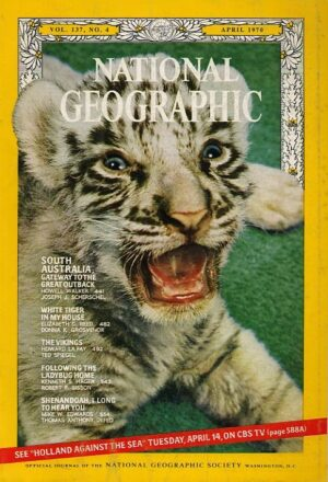 National Geographic April 1970-0