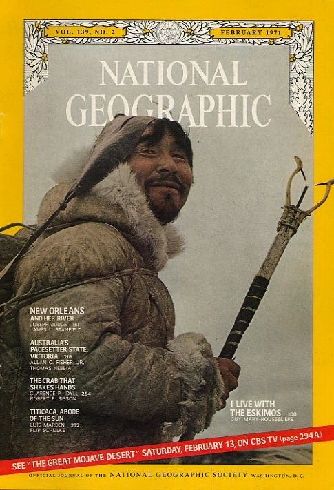 National Geographic February 1971-0