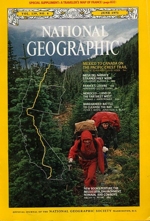 National Geographic June 1971-0