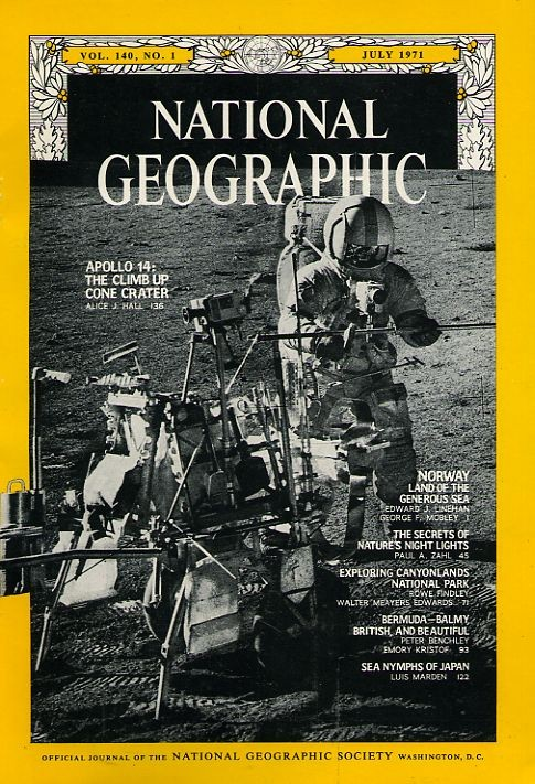 National Geographic July 1971-0