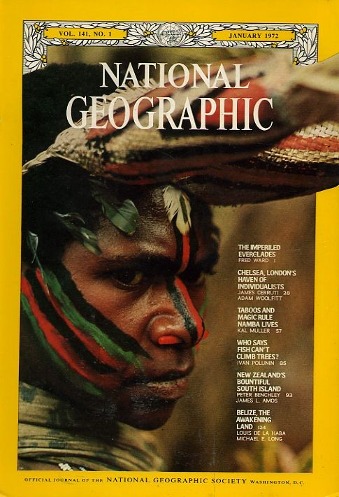 National Geographic January 1972-0