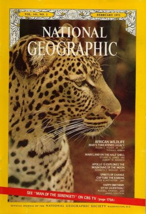 National Geographic February 1972-0
