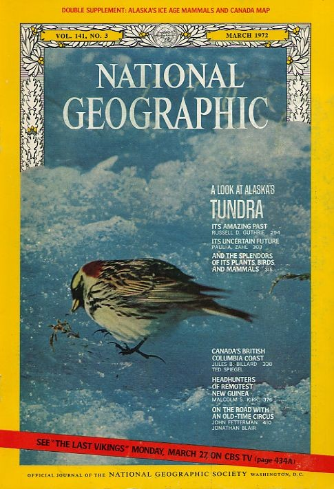 National Geographic March 1972-0