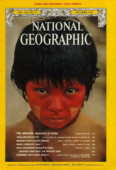 National Geographic October 1972-0