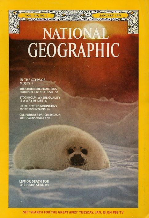National Geographic January 1976-0