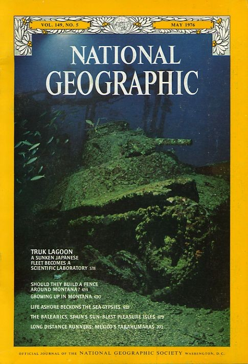 National Geographic May 1976-0