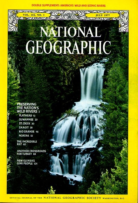 National Geographic July 1977-0