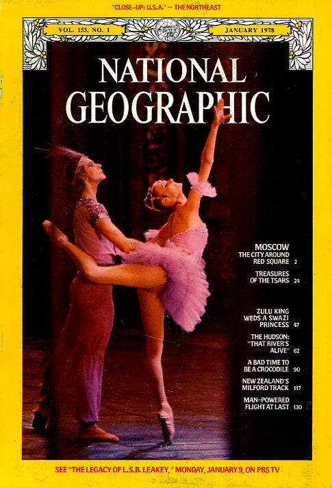 National Geographic January 1978-0