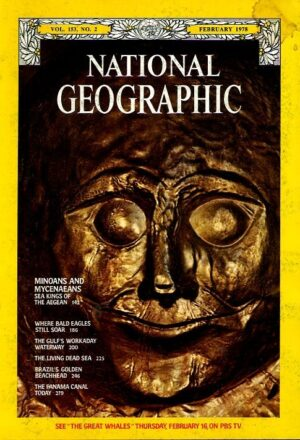 National Geographic February 1978-0