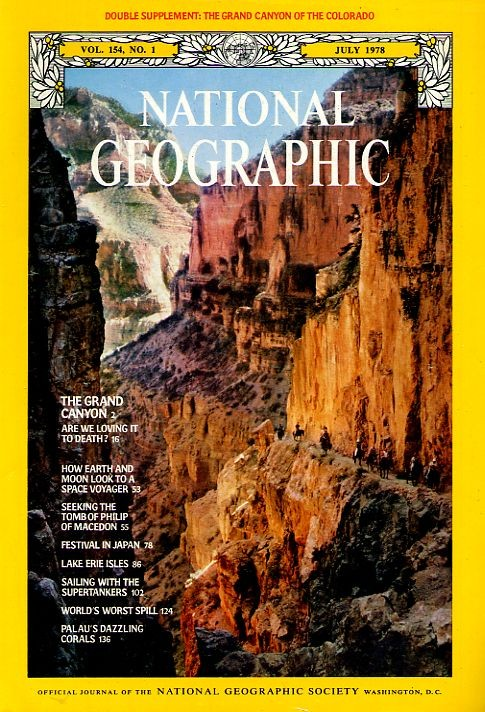 National Geographic July 1978-0