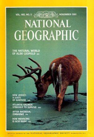 National Geographic November 1981-0