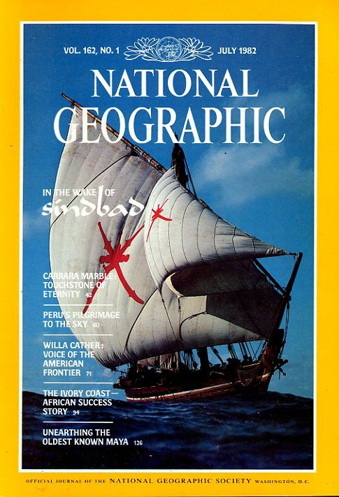 National Geographic July 1982-0