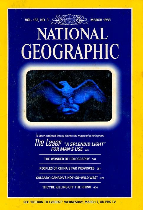 National Geographic March 1984-0