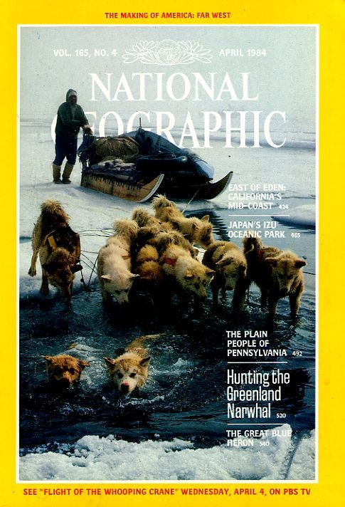 National Geographic April 1984-0