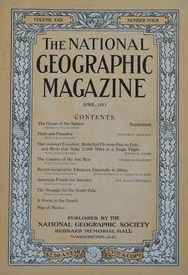 National Geographic April 1911-0