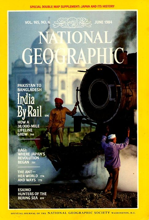 National Geographic June 1984-0
