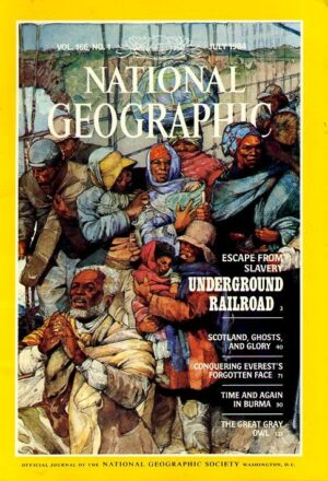 National Geographic July 1984-0