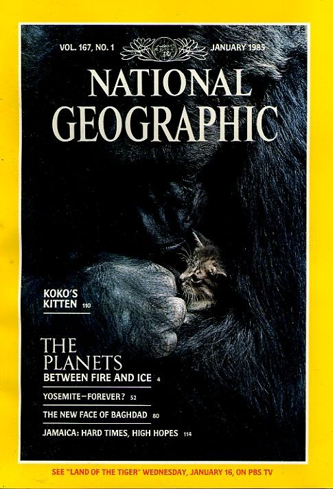 National Geographic January 1985-0