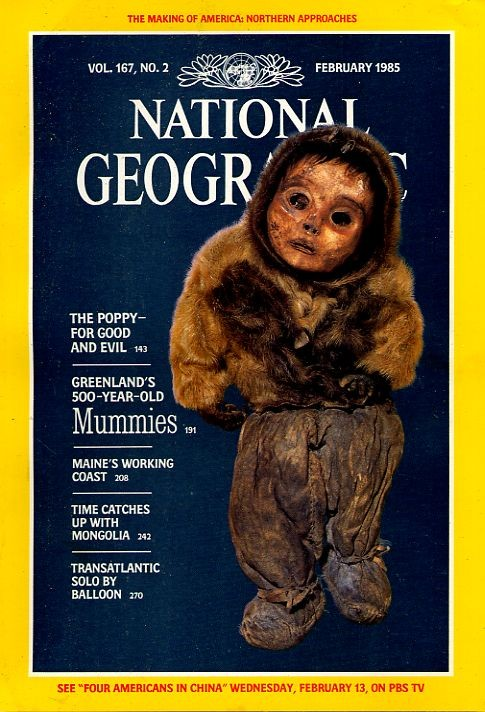 National Geographic February 1985-0