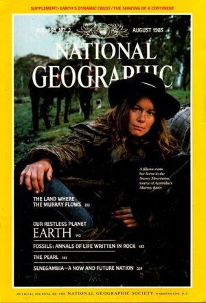 National Geographic August 1985-0