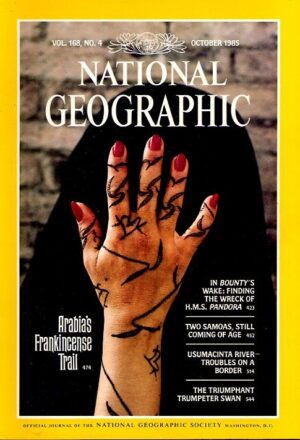 National Geographic October 1985-0