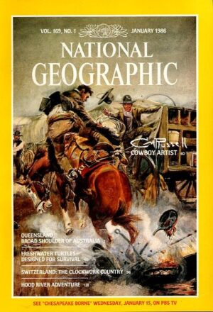 National Geographic January 1986-0