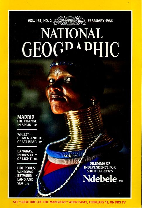 National Geographic February 1986-0