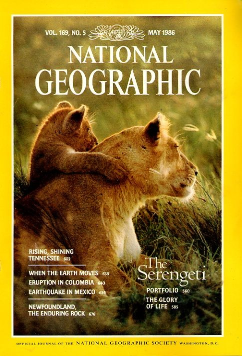 National Geographic May 1986-0