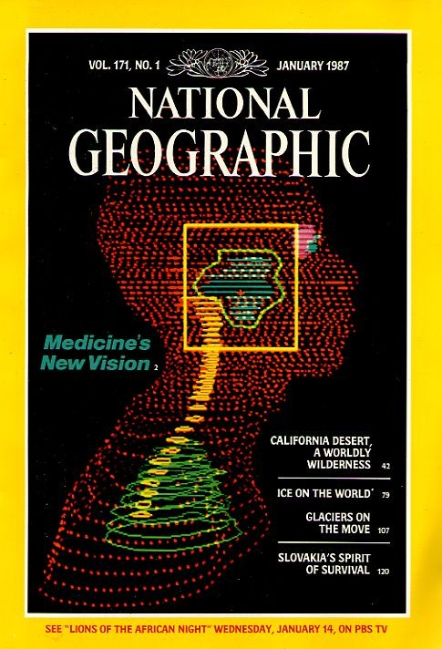 National Geographic January 1987-0