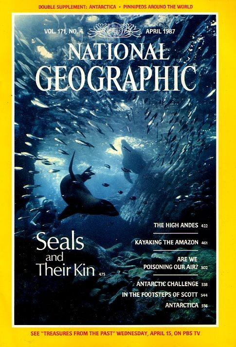 National Geographic April 1987-0
