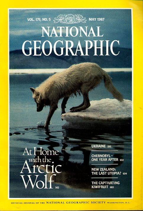 National Geographic May 1987-0
