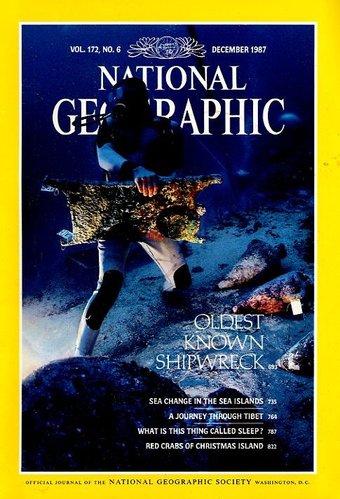 National Geographic December 1987-0