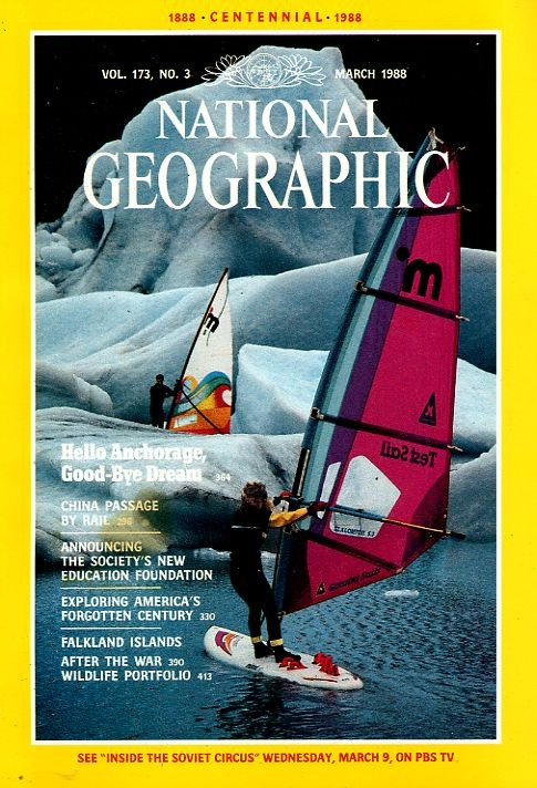 National Geographic March 1988-0